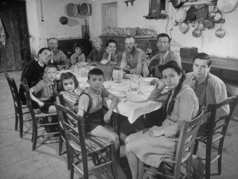 Around The Dinner Table History Of Eating In The United